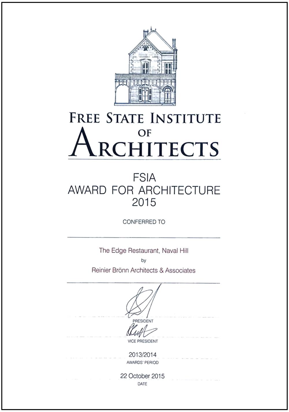 FSAI-Award